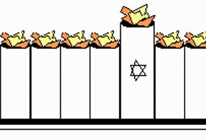 Paper Menorah Craft for Kids