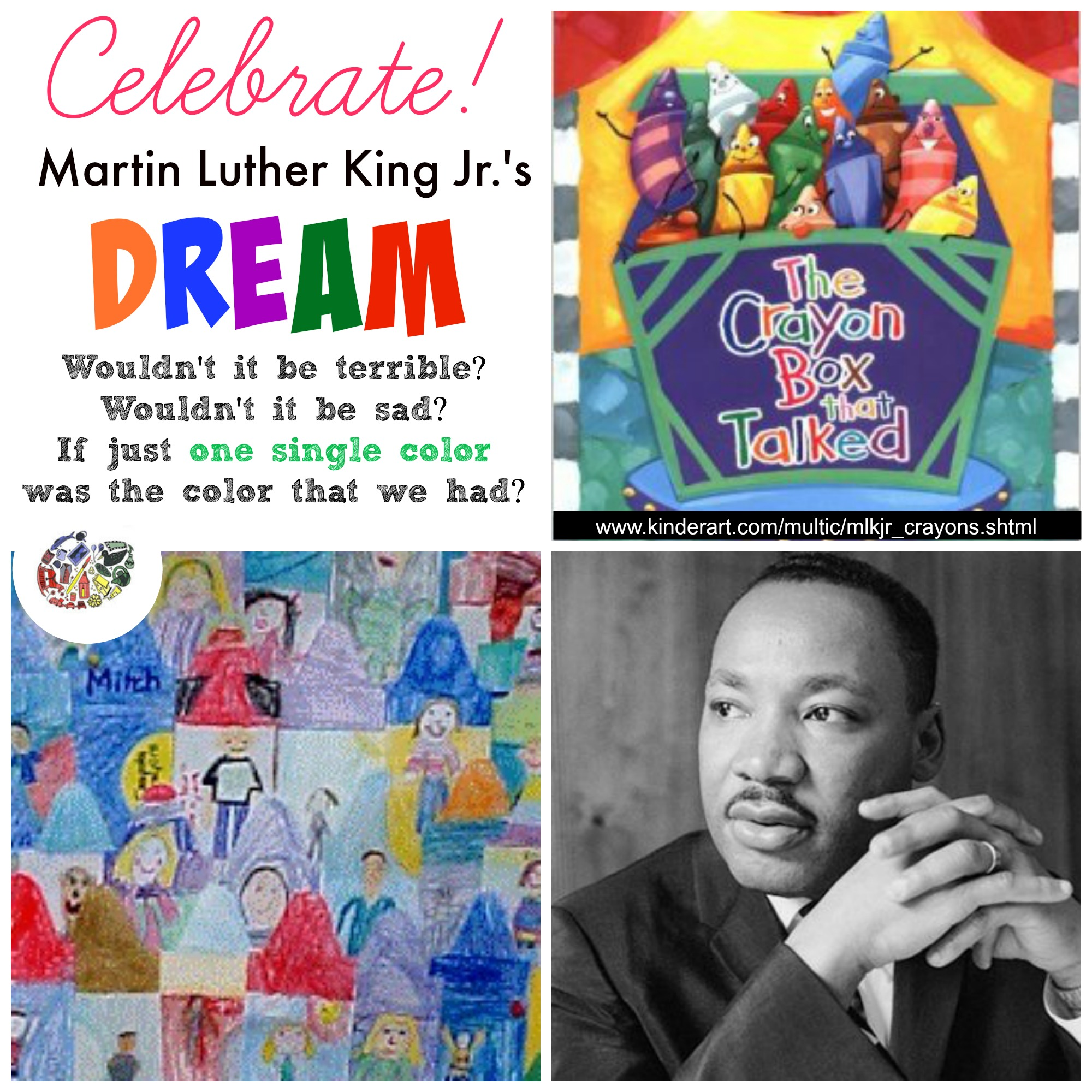 A Box Of Crayons Martin Luther King Jr Lesson Plan Multicultural