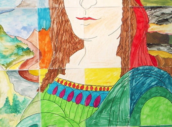 Mona Lisa Collage