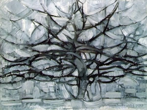 Mondrian Grey Tree, 1912 oil on canvas Gemeentemuseum Den Haag, The Hague