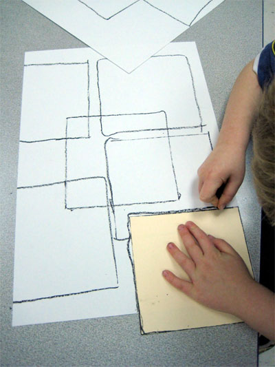 Make a picture inspired by Mondrian