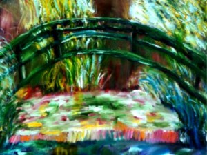 Make a Monet painting lesson plan