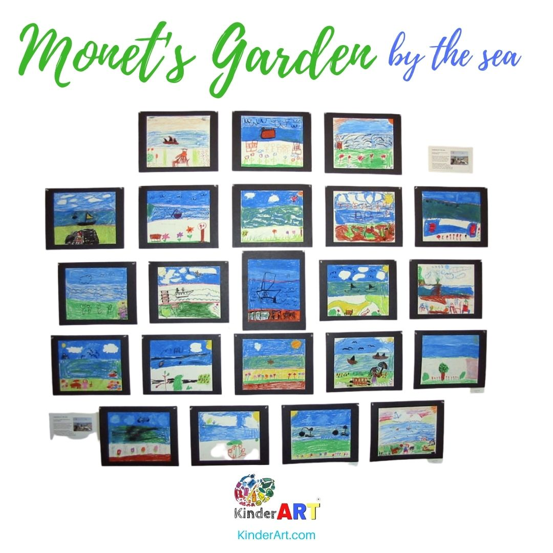 Monet Art Lesson Plan