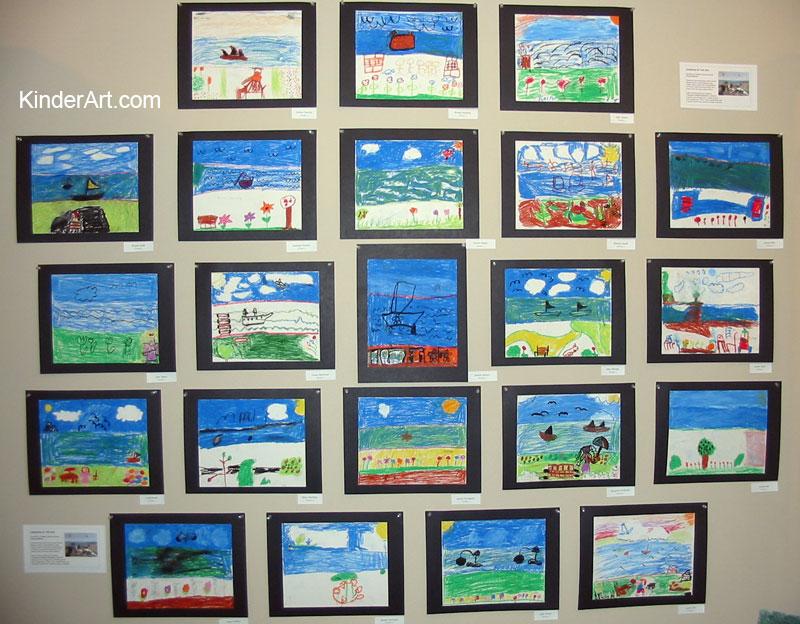 Monet's Garden lesson plan