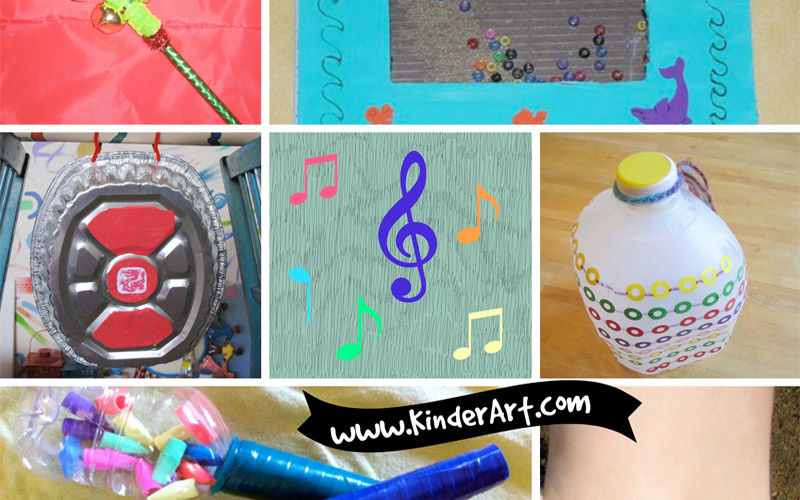 Here find ideas for incorporating music into your art lessons as well as fantastic musical instruments that you and your kids can make.