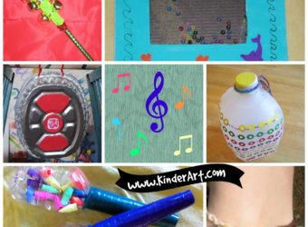 25 Easy Musical Instruments to Make. KinderArt.com