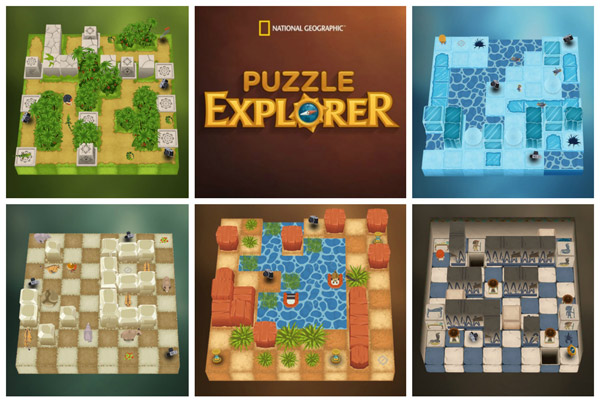 National Geographic Puzzle Explorer