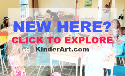 New to KinderArt? Start Here First.