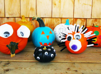 31 No-Carve Ways to Decorate a Pumpkin for Halloween. KinderArt.com