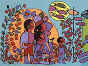 Norval Morrisseau: Observation of the Astral World