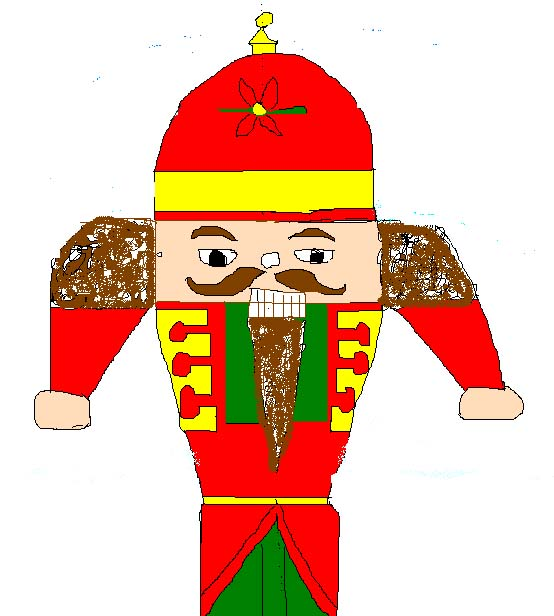 Learn how to draw a nutcracker, step-by-step.