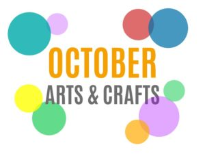 October Arts, Crafts and Activities for Kids from KinderArt.com
