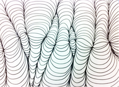 Op Art Shaded Shapes Lesson Plan Kinderart Com