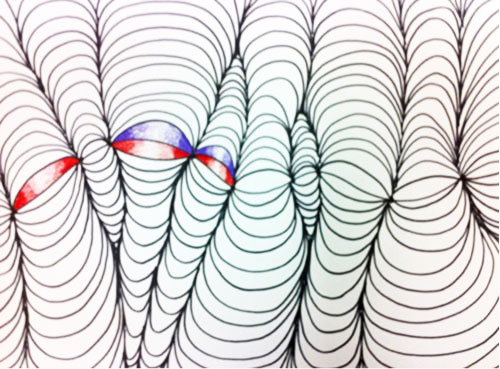 op art shaded shapes lesson plan kinderartcom