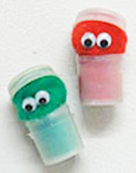 Paint Pot Oscar the Grouch and Elmo magnets.