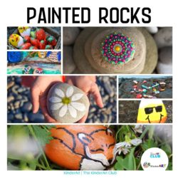 Painted rocks craft