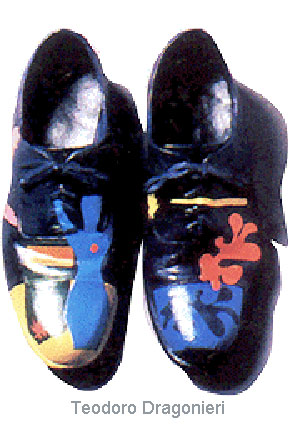 Painted Shoes by Teodoro Dragonieri