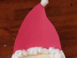 Paper plate Santa craft. KinderArt.com