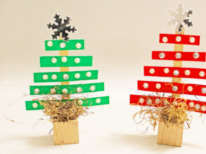 Paper Strip Trees. KinderArt.com