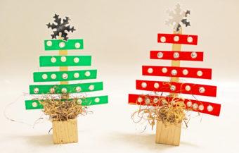 Paper Strip Trees. KinderArt.com