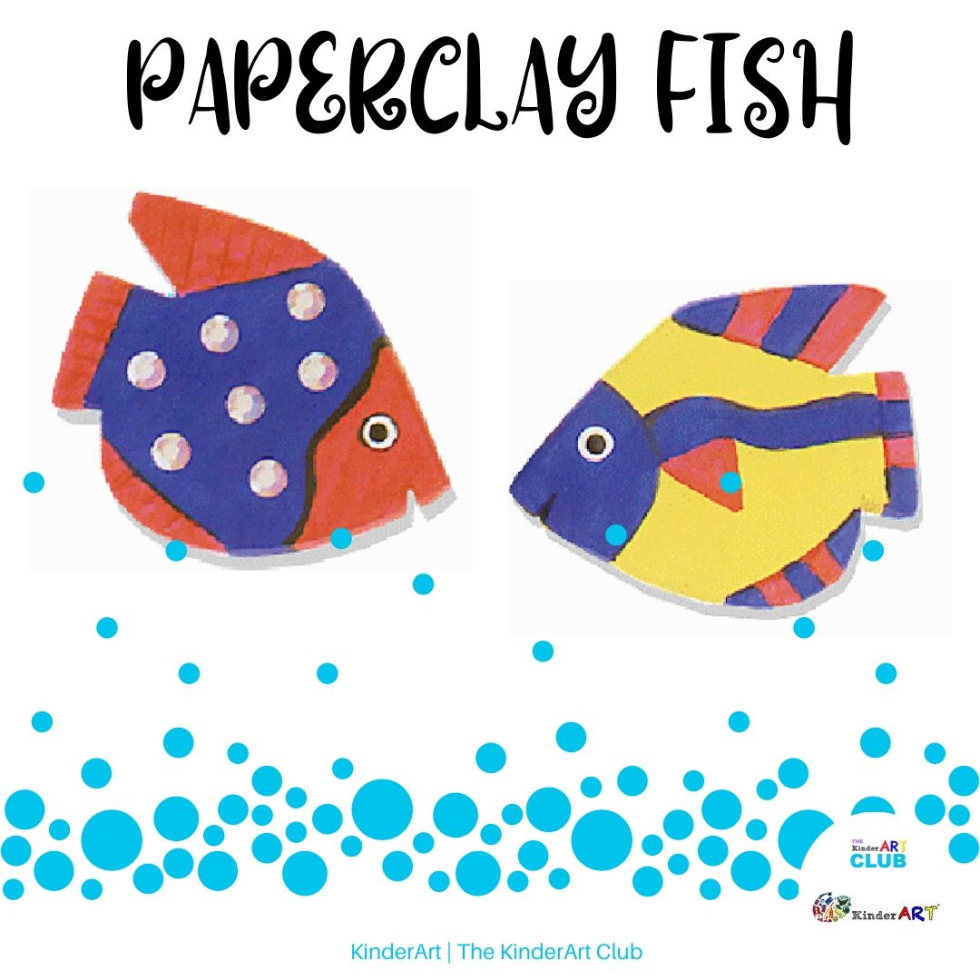 Paperclay Fish lesson plan