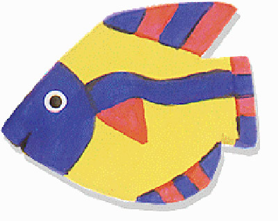 Paperclay Fish