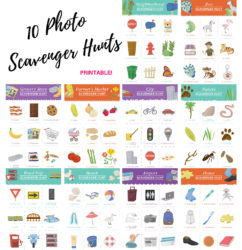Photo Scavenger Hunt to Do at home or on the go