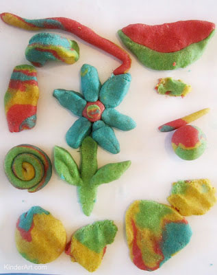 Create wonderful sculpture with your own homemade clay.