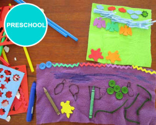 Preschool Art Lessons. KinderArt.com