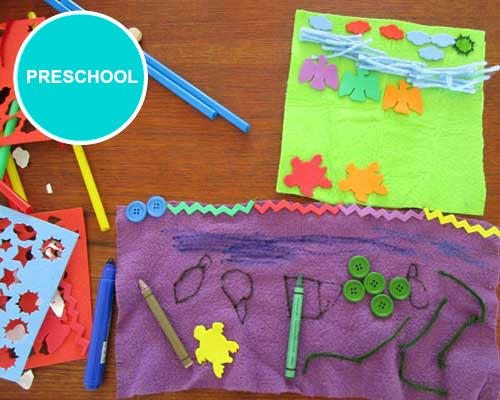 Preschool Art Lessons Kinderart
