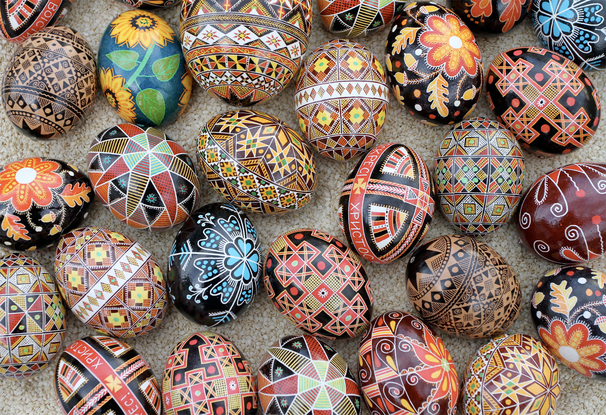 Pysanky Eggs. Photo: Luba Petrusha