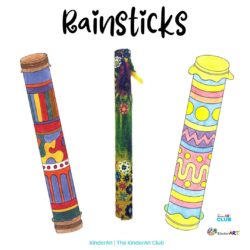 Rainsticks craft