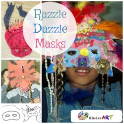 Razzle Dazzle Masks