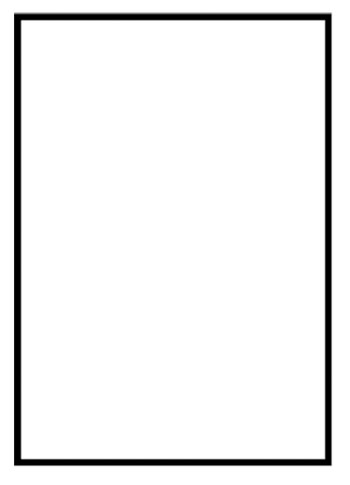 Adaptable image in rectangle printable