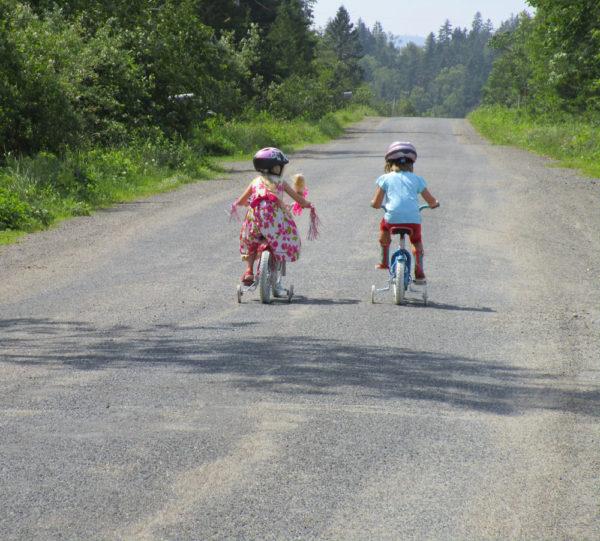 Ride a bike.