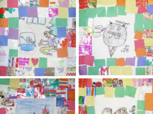 Make a story quilt inspired by the work of Faith Ringgold