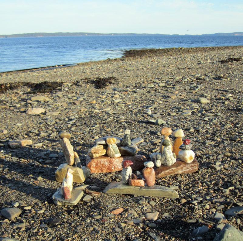 Rock sculptures by Jantje.