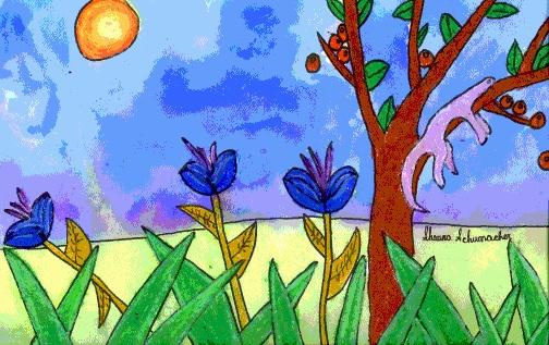 Henri Rousseau art lesson for kids