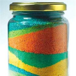 Layered Sand Jar