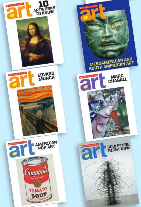 Win a class set of Scholastic Art Magazine!