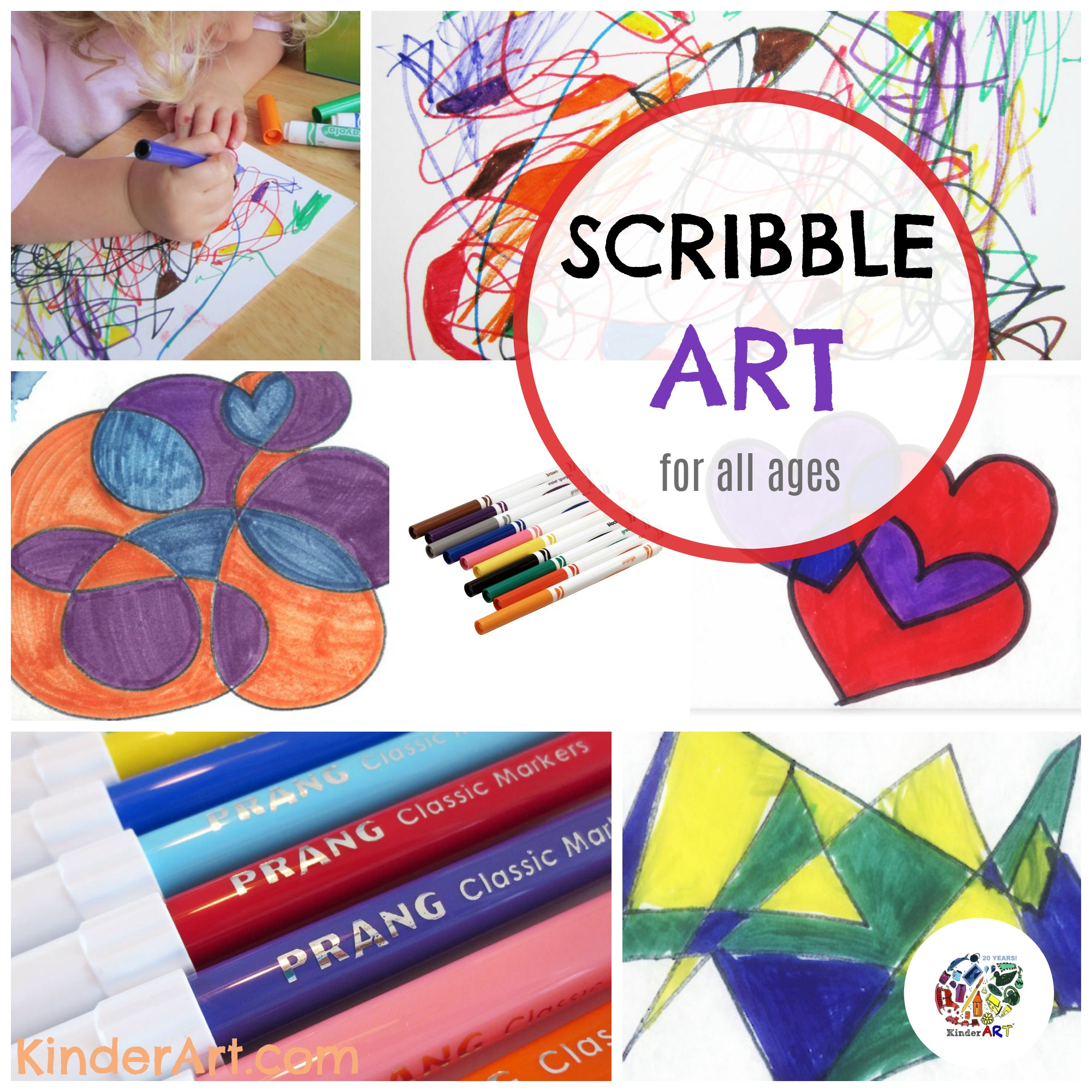 Scribble Drawing For Kids : Advanced scribble pictures drawing lessons for kids