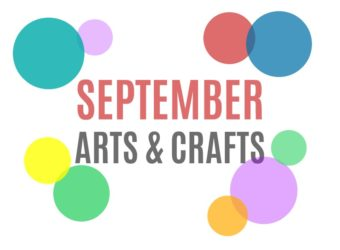 September Arts, Crafts and Activities for Kids from KinderArt.com