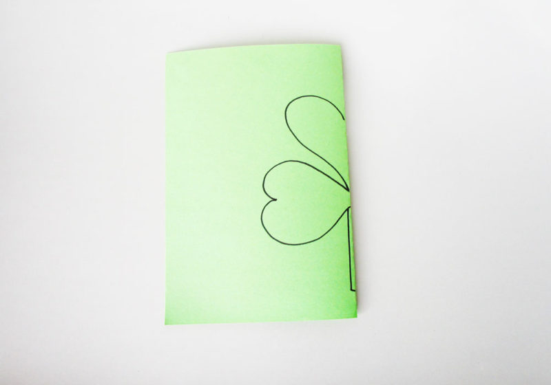 Draw a stem.