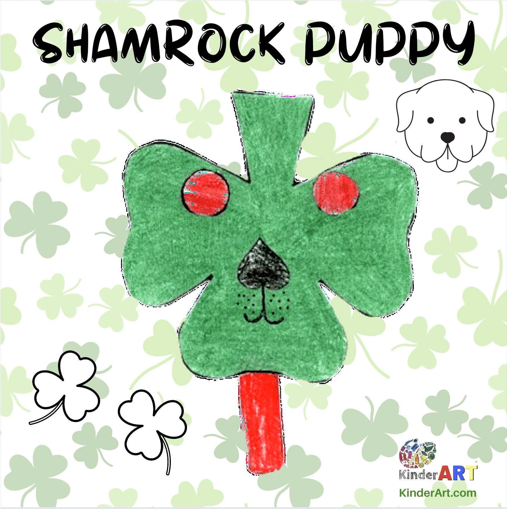 Shamrock Puppy Craft