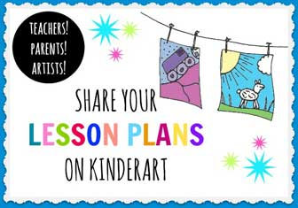 Share your lesson plans on KinderArt.com