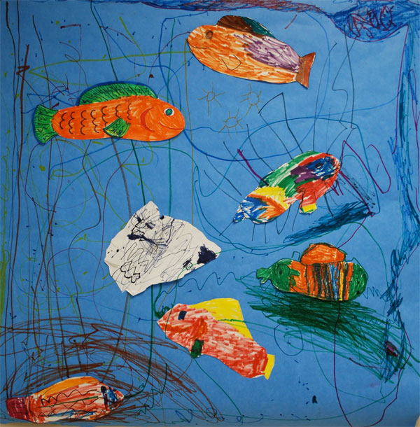 Shoe Fish: Drawing Lessons for Kids: KinderArt Elementary ...