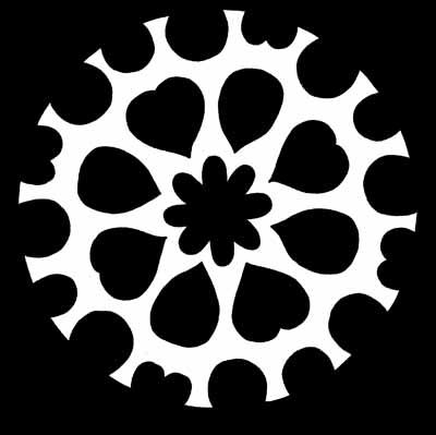 Sweetheart Snowflake Pattern
