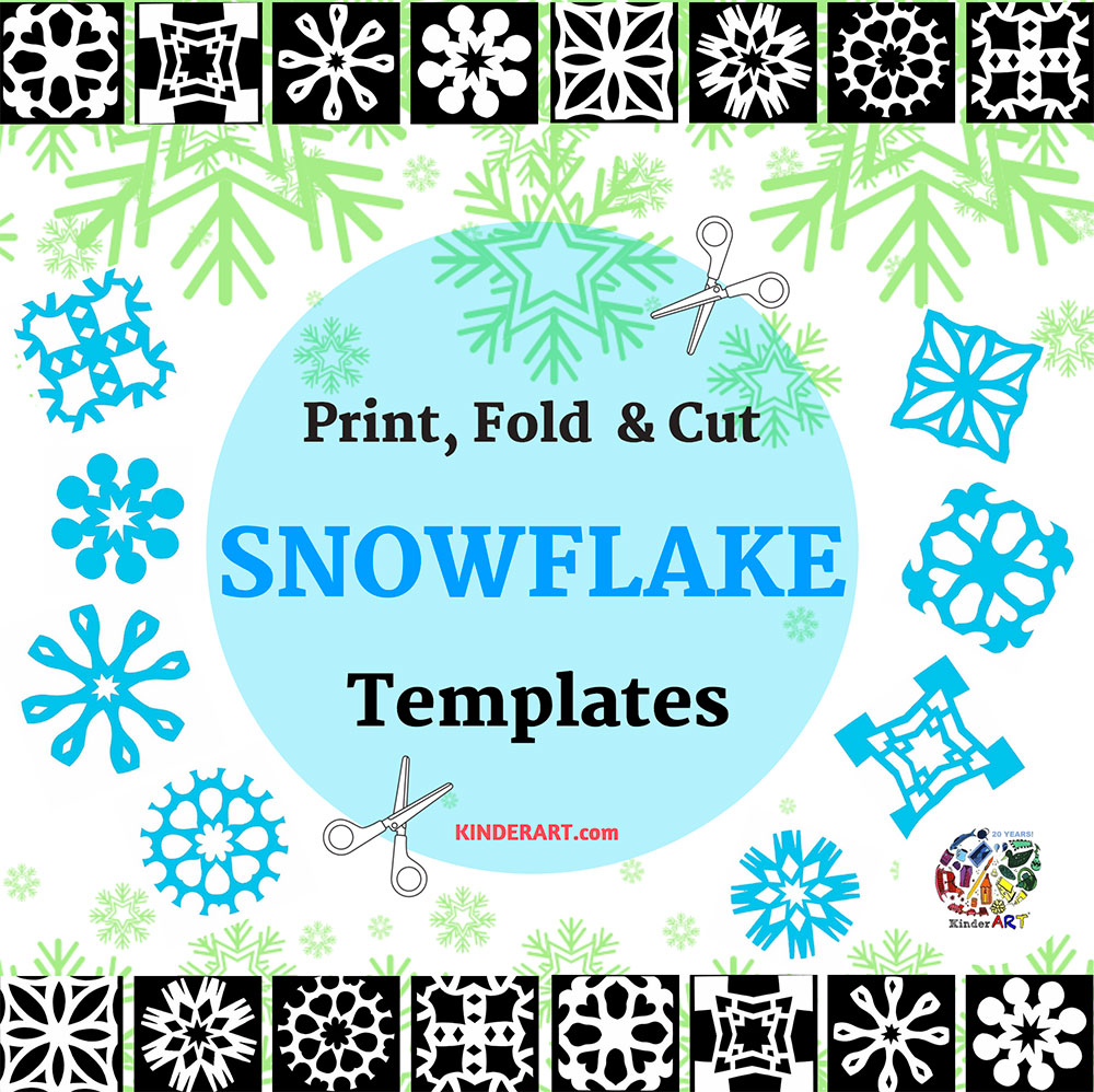 Paper Snowflakes - Christmas Holiday Arts and Crafts ...