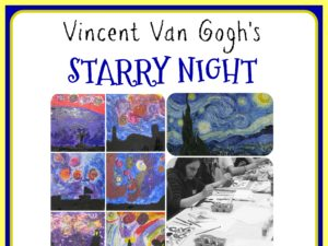 Starry Night Lesson Plan Pack