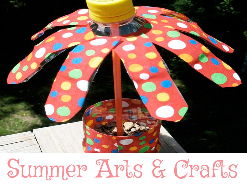 Summer arts, crafts and activities for kids.